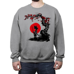 Saiyan Under the Sun - Crew Neck Sweatshirt - Crew Neck Sweatshirt - RIPT Apparel