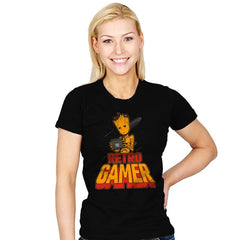 I am Retro Gamer - Womens - T-Shirts - RIPT Apparel