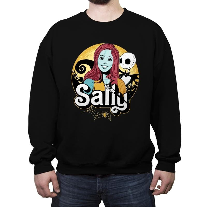 Sally - Anytime - Crew Neck Sweatshirt - Crew Neck Sweatshirt - RIPT Apparel