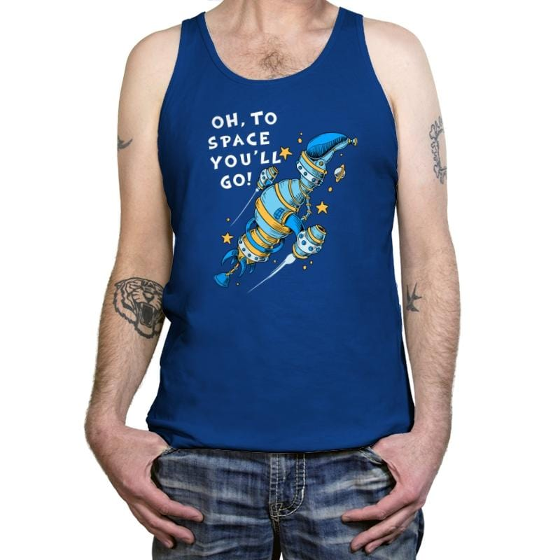 Oh, To Space! - Tanktop - Tanktop - RIPT Apparel