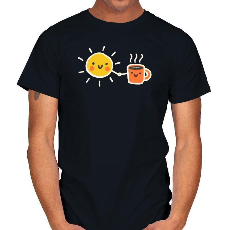 Morning Lovers - Mens - T-Shirts - RIPT Apparel