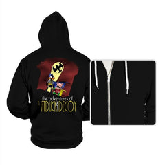 The Adventures of Batduck and Decoy - Hoodies - Hoodies - RIPT Apparel