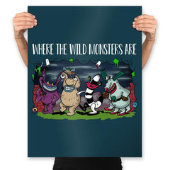 Wild Monsters - Prints - Posters - RIPT Apparel