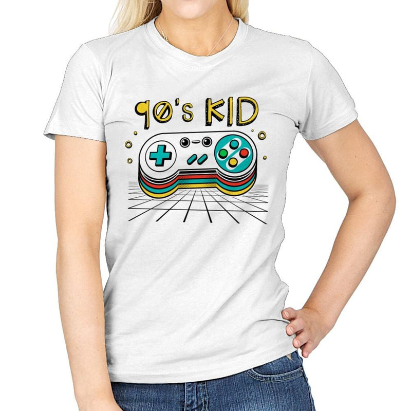 Ultimate 90's Kid - Womens - T-Shirts - RIPT Apparel