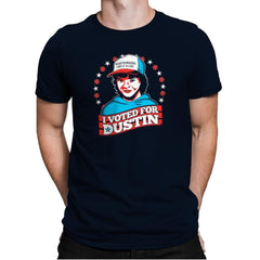 I Voted for Dustin Exclusive - Mens Premium - T-Shirts - RIPT Apparel