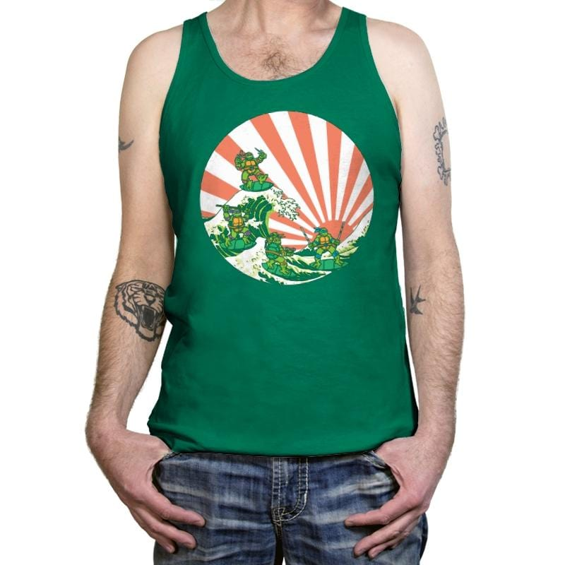 The Great Wave Off Cowabunga - Tanktop - Tanktop - RIPT Apparel