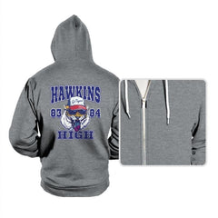 Hawkins High School Tigers  - Hoodies - Hoodies - RIPT Apparel
