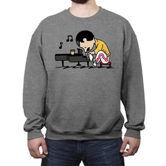 Queenuts Rock - Crew Neck Sweatshirt - Crew Neck Sweatshirt - RIPT Apparel