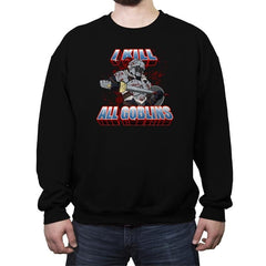 I kill all goblins - Crew Neck Sweatshirt - Crew Neck Sweatshirt - RIPT Apparel