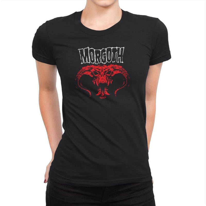 Morgoth - Heavy Metal Machine - Womens Premium - T-Shirts - RIPT Apparel