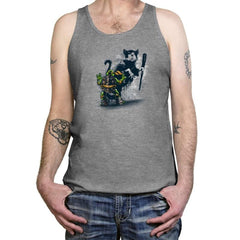 Teenage Mutant Street Art - Tanktop - Tanktop - RIPT Apparel