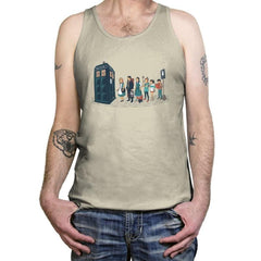 The Doctor's Express - Tanktop - Tanktop - RIPT Apparel