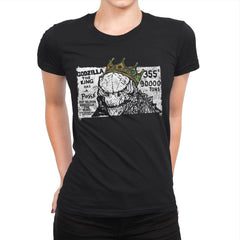 The Big King - Womens Premium - T-Shirts - RIPT Apparel