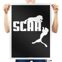SCAR - Prints - Posters - RIPT Apparel