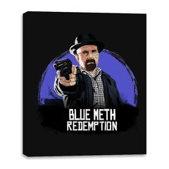 Blue Meth Redemption - Canvas Wraps - Canvas Wraps - RIPT Apparel