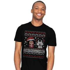 Christmas is Coming - Ugly Holiday - Mens - T-Shirts - RIPT Apparel