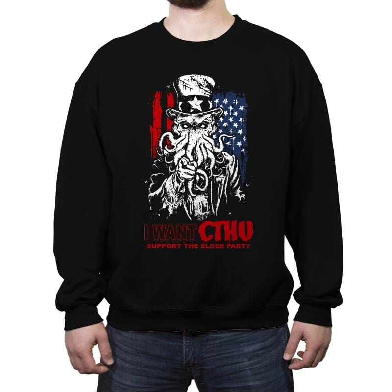 Elder Party - Crew Neck Sweatshirt - Crew Neck Sweatshirt - RIPT Apparel