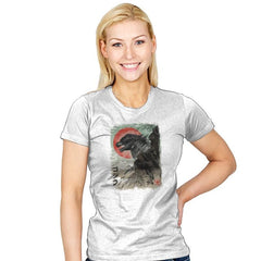 Kaiju-e - Womens - T-Shirts - RIPT Apparel