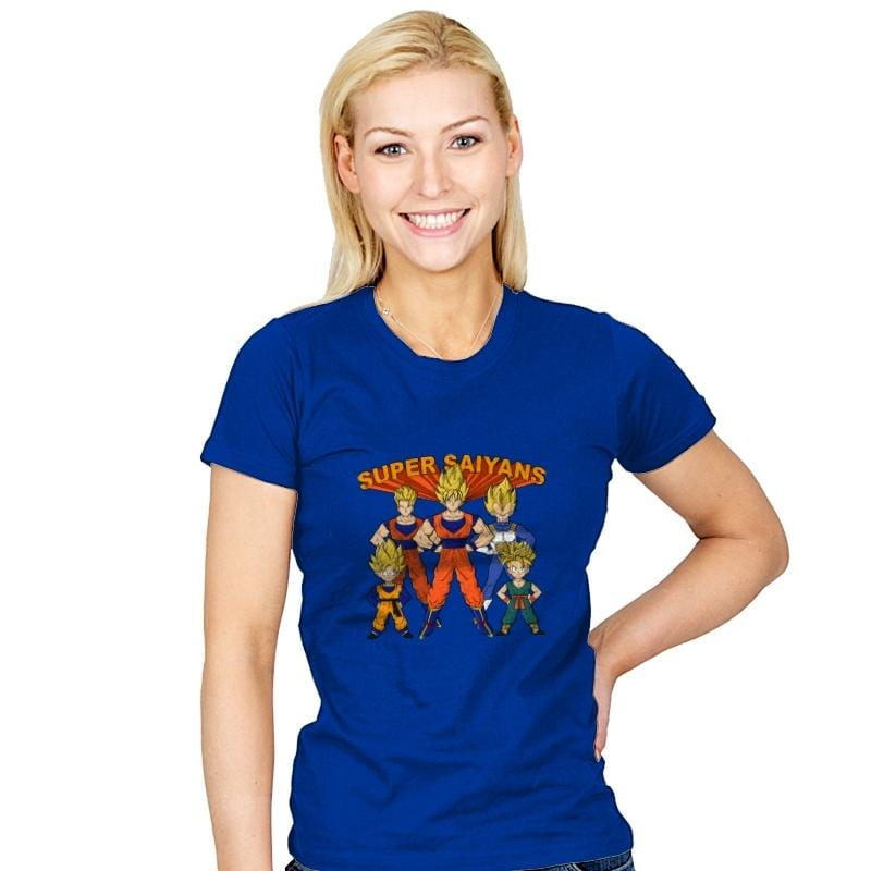 Super Saiyans - Womens - T-Shirts - RIPT Apparel