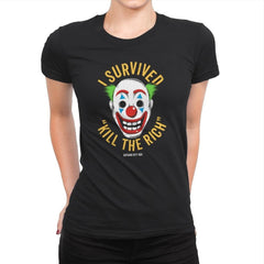 Kill The Rich Survivor - Womens Premium - T-Shirts - RIPT Apparel