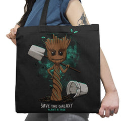 Plant a Tree - Awesome Mixtees - Tote Bag - Tote Bag - RIPT Apparel