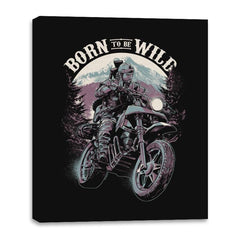 Born To Be Wild - Canvas Wraps - Canvas Wraps - RIPT Apparel