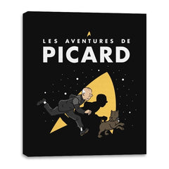 The Adventures of Picard - Canvas Wraps - Canvas Wraps - RIPT Apparel