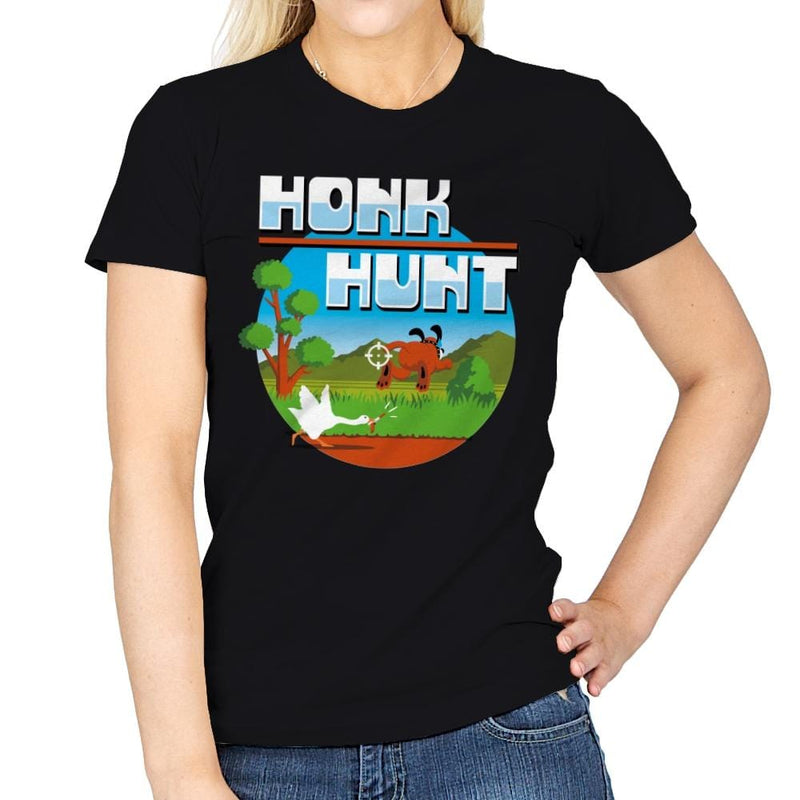 Honk Hunt - Womens - T-Shirts - RIPT Apparel