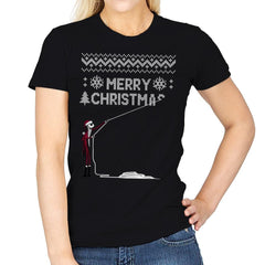 Stolen Christmas - Ugly Holiday - Womens - T-Shirts - RIPT Apparel