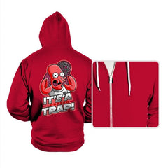 It's a Lobster Trap - Hoodies - Hoodies - RIPT Apparel