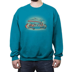 Future Dinner - Crew Neck Sweatshirt - Crew Neck Sweatshirt - RIPT Apparel