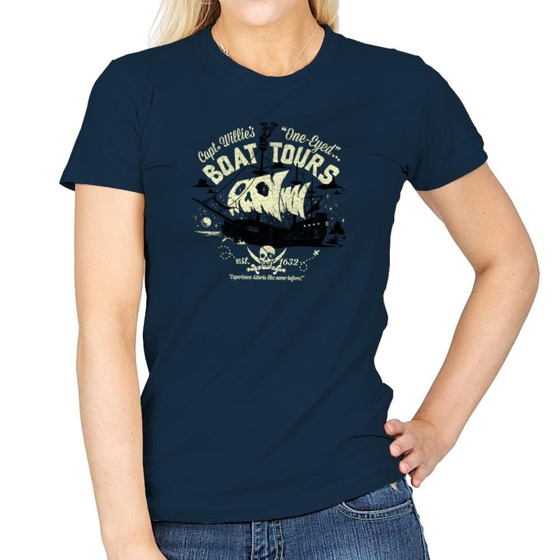 One-Eyed Boat Tours Exclusive - Womens - T-Shirts - RIPT Apparel