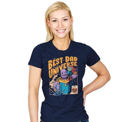 The Best Dad in the Universe - Womens - T-Shirts - RIPT Apparel