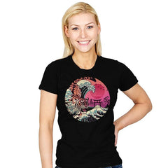 Rad Tiger Wave - Womens - T-Shirts - RIPT Apparel