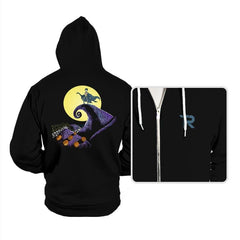 Bat Skellington  - Hoodies - Hoodies - RIPT Apparel