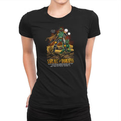 Sarlacc of Darkness Exclusive - Womens Premium - T-Shirts - RIPT Apparel