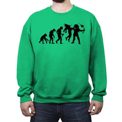 Evolution Dead End - Crew Neck Sweatshirt - Crew Neck Sweatshirt - RIPT Apparel