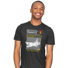 Yamato Repair Manual Exclusive - Anime History Lesson - Mens - T-Shirts - RIPT Apparel