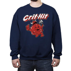 Crit-Hit - Crew Neck Sweatshirt - Crew Neck Sweatshirt - RIPT Apparel