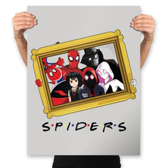 Spider Firends - Prints - Posters - RIPT Apparel