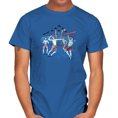 American Beach Volleyball Exclusive - Star-Spangled - Mens - T-Shirts - RIPT Apparel