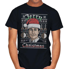 Merry Jerry Christmas - Mens - T-Shirts - RIPT Apparel