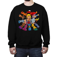 HE-WICK - Crew Neck Sweatshirt - Crew Neck Sweatshirt - RIPT Apparel
