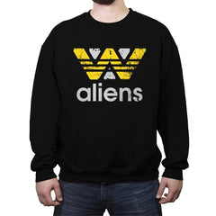 Aliens Sportswear - Crew Neck Sweatshirt - Crew Neck Sweatshirt - RIPT Apparel