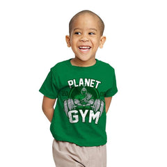 Planet Gym - Youth - T-Shirts - RIPT Apparel