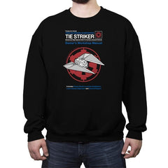 Striker Manual - Crew Neck Sweatshirt - Crew Neck Sweatshirt - RIPT Apparel