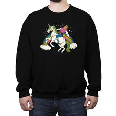 She-Man! - Crew Neck Sweatshirt - Crew Neck Sweatshirt - RIPT Apparel