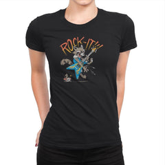 Thrash Panda Exclusive - Womens Premium - T-Shirts - RIPT Apparel