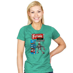 Tales of the Future Exclusive - Womens - T-Shirts - RIPT Apparel