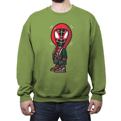 Peanut Spida - Crew Neck Sweatshirt - Crew Neck Sweatshirt - RIPT Apparel
